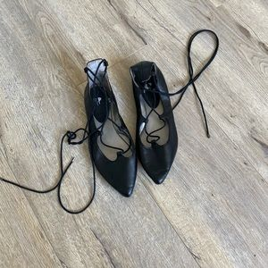 Bp lace up flats! Super comfy!! Only worn once